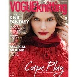 Vogue Knitting Magazine-Early Fall 2011