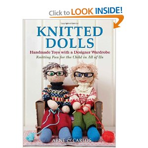 Knitted Dolls Knitting Book