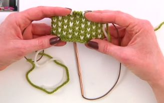 Two Color Knitting